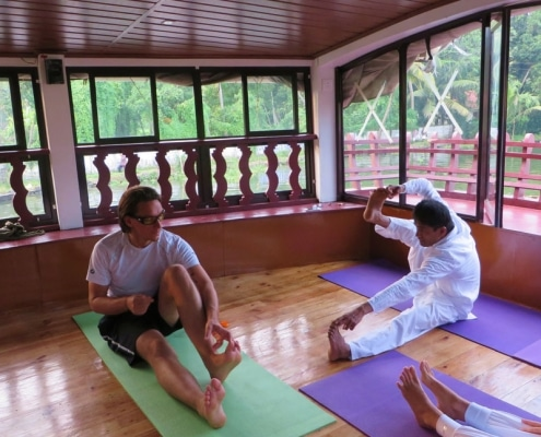 Backwater Yoga Tour Indien