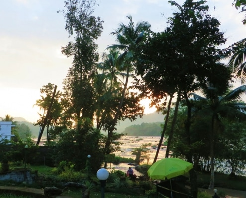 Flusslandschaft Kerala