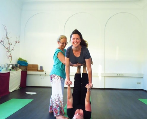 Acro Yoga Landshut Partnerübung