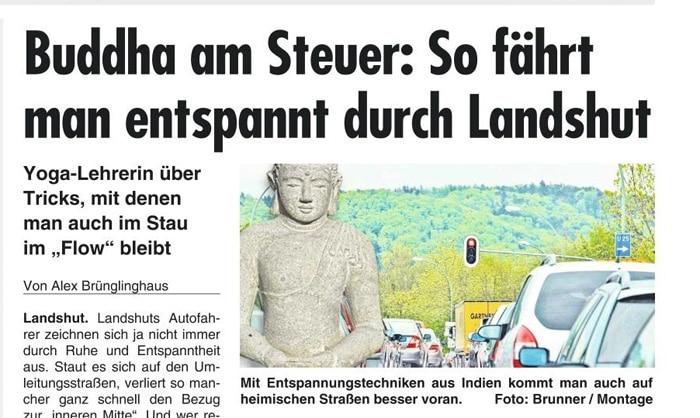 Buddha am Steuer