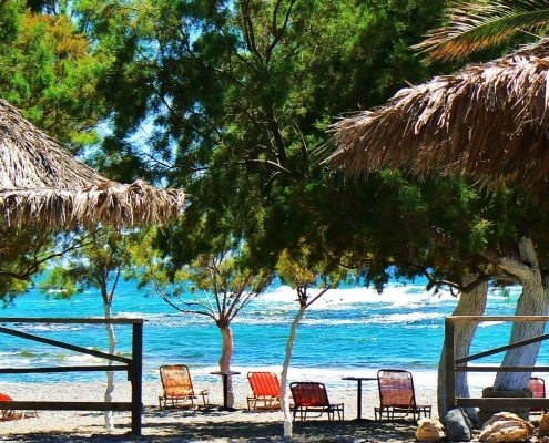 Yoga Retreat Kreta am Strand