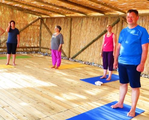 Yoga Hütte