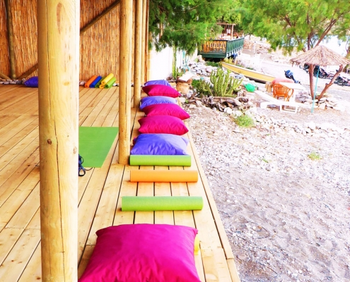 Yoga Hut - beach