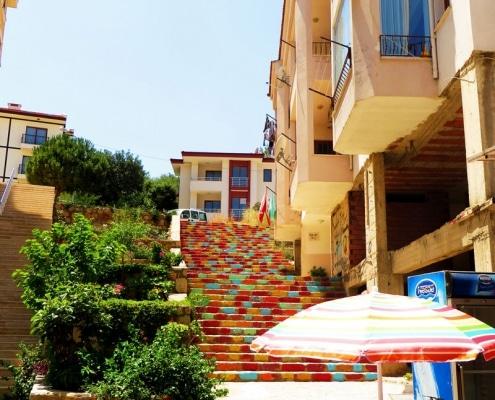 Treppe Türkei