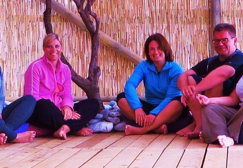 Yoga Gruppe in der Türkei
